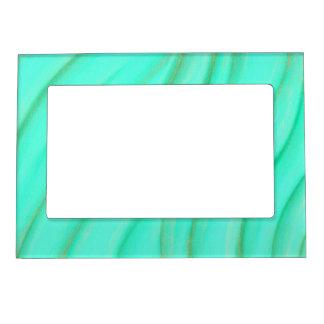 Green and Gold Blended Wisps Magnetic Frames