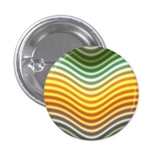 Green and Gold Color Wave Button