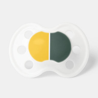 Green and Gold Pacifier