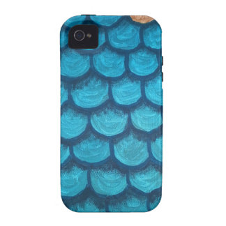 Green and Gold Scales Case-Mate iPhone 4 Covers