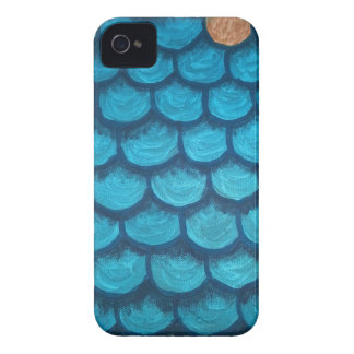 Green and Gold Scales iPhone 4 Cover