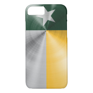 Green and Gold Texas Flag iPhone 7 Case