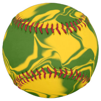 Green and Gold Waves Softball