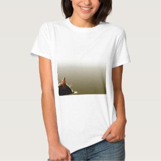 Green and Grey Cat Nap T-shirt