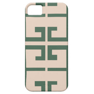 Green and Khaki Tile iPhone 5 Covers