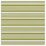 [ Thumbnail: Green and Lavender Lines Fabric ]