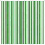 [ Thumbnail: Green and Lavender Pattern of Stripes Fabric ]