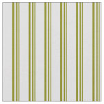 [ Thumbnail: Green and Lavender Striped Pattern Fabric ]