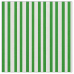 [ Thumbnail: Green and Light Cyan Lines Pattern Fabric ]