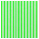 [ Thumbnail: Green and Lime Colored Lines Pattern Fabric ]
