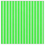 [ Thumbnail: Green and Lime Lines Fabric ]