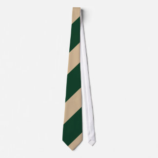 Green and Old Gold Neck Tie