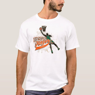 Green and Orange Basketball Tshirts and Gifts