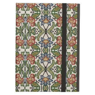 Green and Orange Decorative Pattern iPad Air Cases