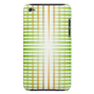 Green and Orange Plaid Phone Case