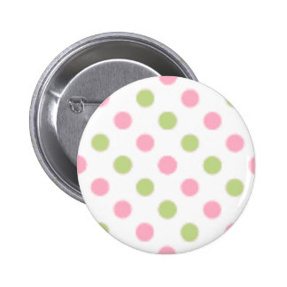 Green and Pink Button