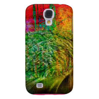 Green and Pink Gifts Samsung S4 Case