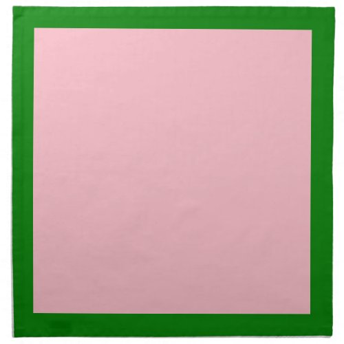 Green and Pink Napkins