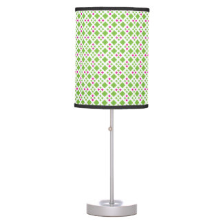 Green and Pink Pattern Lamp Shade