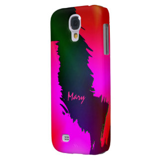 Green and Pink Samsung Galaxy S4 case for Mary