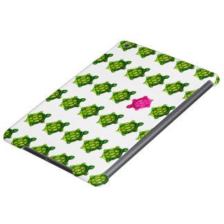 Green and Pink Turtle Pattern Case For iPad Air