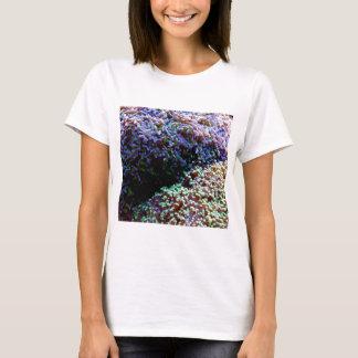 Green and purple anenomes T-Shirt