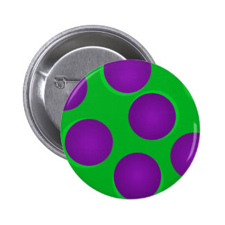 Green and Purple Dots Button Flair