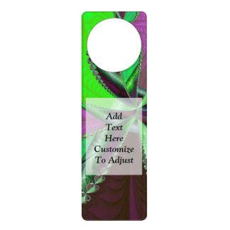 Door Hanger Graphic Design modern graphic design door knob hangers | zazzle
