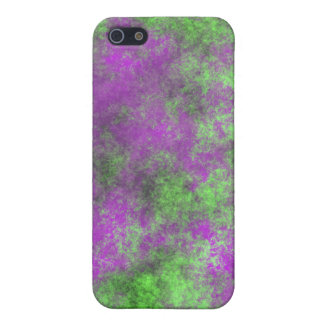 GREEN AND PURPLE GRUNGE COVER FOR iPhone SE/5/5s