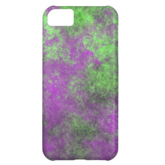 GREEN AND PURPLE GRUNGE iPhone 5C COVER