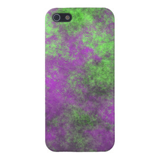 GREEN AND PURPLE GRUNGE iPhone SE/5/5s CASE