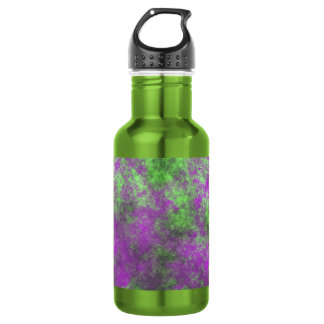 GREEN AND PURPLE GRUNGE 18OZ WATER BOTTLE