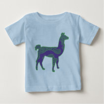 Green and Purple Llama Shirt