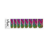 Green and Purple Nails Minx ® Nail Wraps