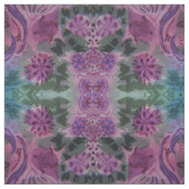 Green and Purple Pattern Fabric