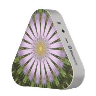 Green and Purple Starburst Pieladium Speaker