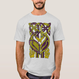 green and purple T-Shirt