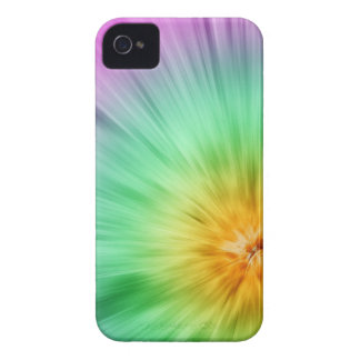 Green And Purple Tie Dye iPhone 4 Cases