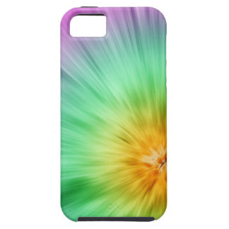 Green And Purple Tie Dye iPhone SE/5/5s Case