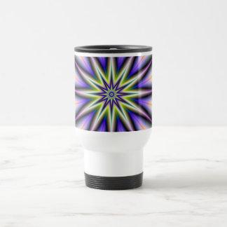 Green and Purple Time Star Mug
