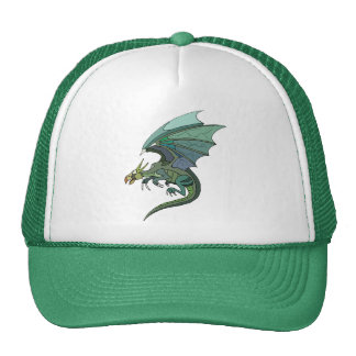 Green and Purple Trucker Hat