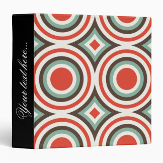 Green and red circles binder