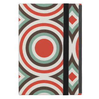 Green and red circles covers for iPad mini
