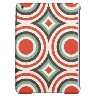 Green and red circles iPad air cases