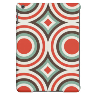 Green and red circles iPad air covers