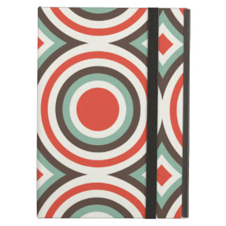 Green and red circles iPad cover