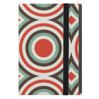 Green and red circles iPad mini case