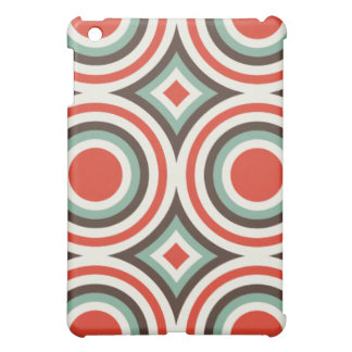 Green and red circles iPad mini covers