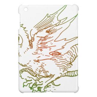Green and Red Dragon iPad Mini Covers
