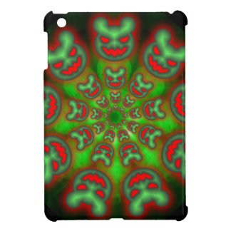 Green and Red Grouchy Bears ipad mini case